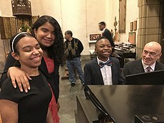 Link to Tweet about our students performing at the Church of the Intercession