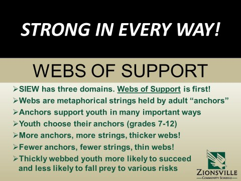 SIEW Webs of Support