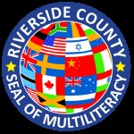 Riverside County Seal of World MulitLiteracy