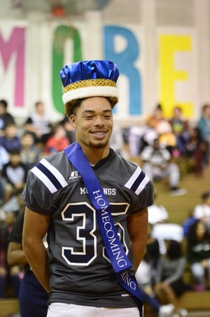 Tyshon Watkins is the 2017 Homecoming King.