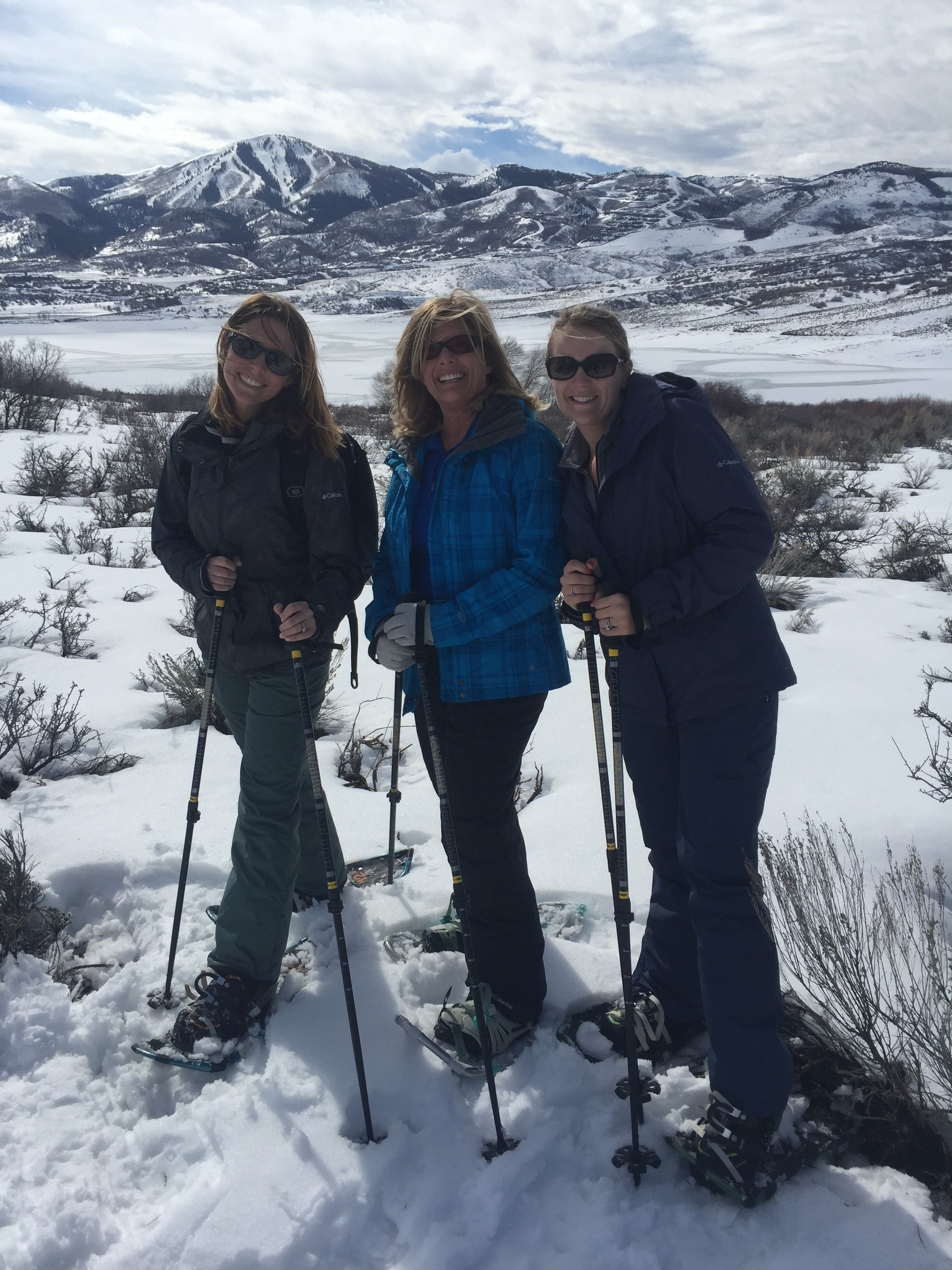 Mrs. Summers and her family in Utah
