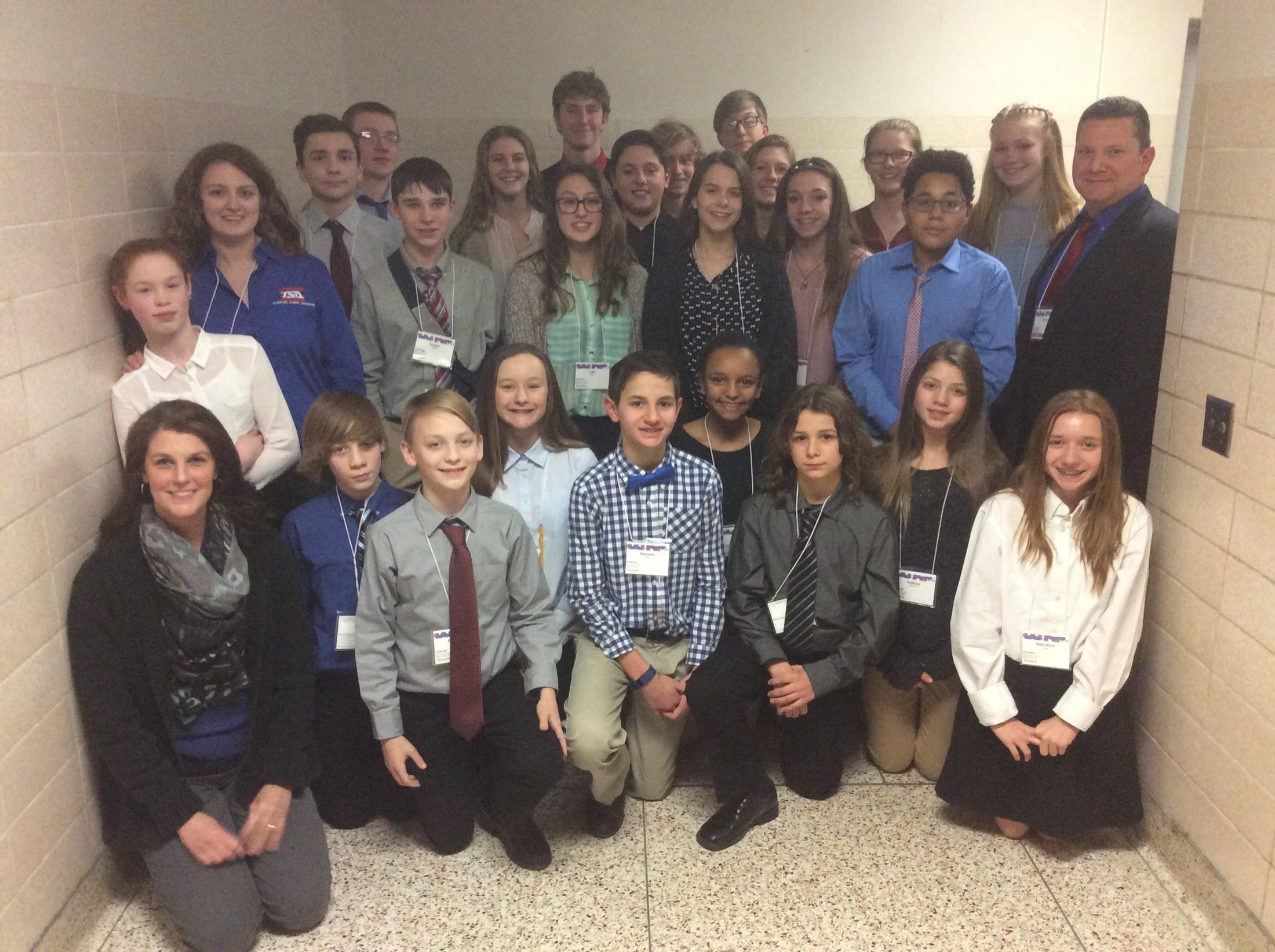 TSA Region 8 Participants