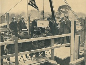 Laying of the Cornerstone on Pelham Parkway