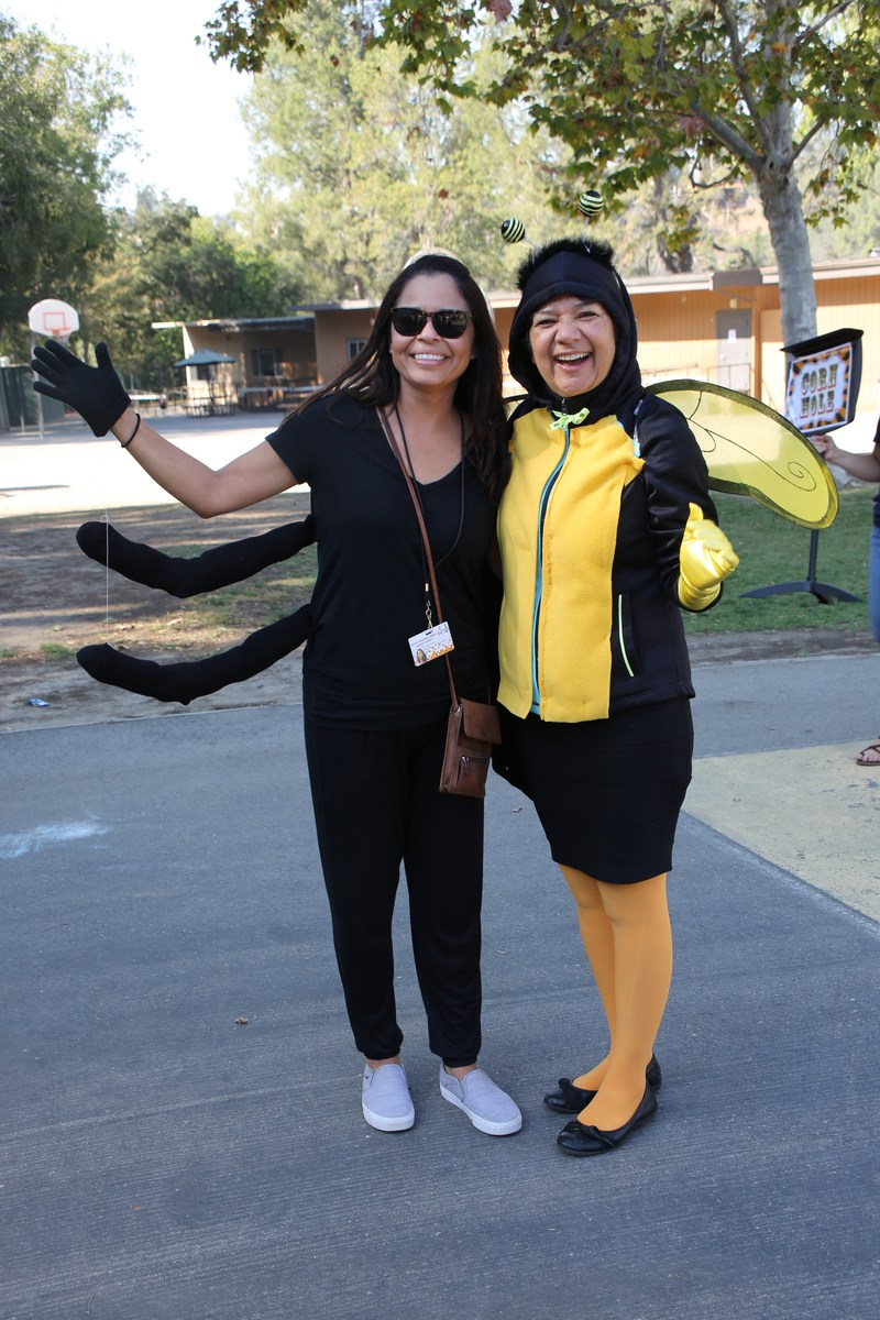 Principal Dr. Narro and Assistant Principal Mrs. Zavala