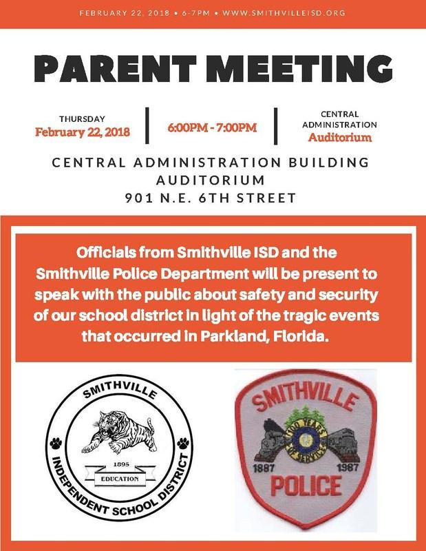 Parent Meeting February 22, 2018 Thumbnail Image