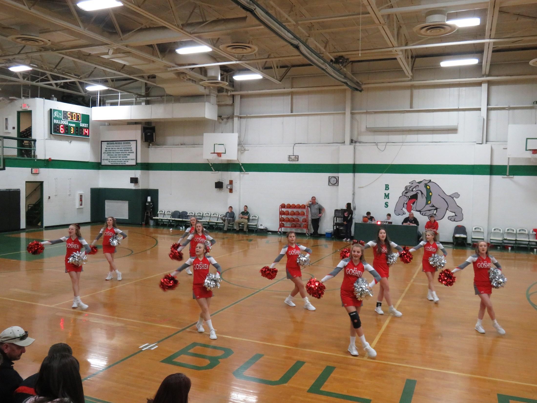GMS Cheerleaders