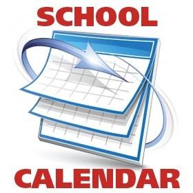 School Calendar Clip Art