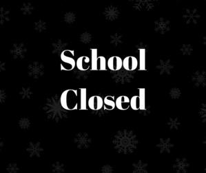School Closed - January 18