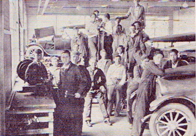 auto shop 1925