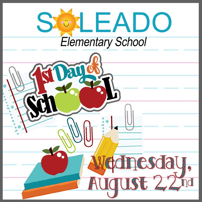 First day of School...August 22nd Thumbnail Image