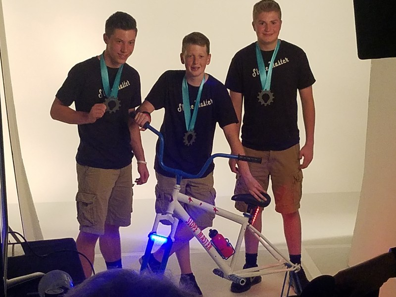 8th Grade Boys Win 1st Place in Inventionland Regional Competition Thumbnail Image
