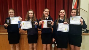 FFA Students Achieve at Speaking Competition