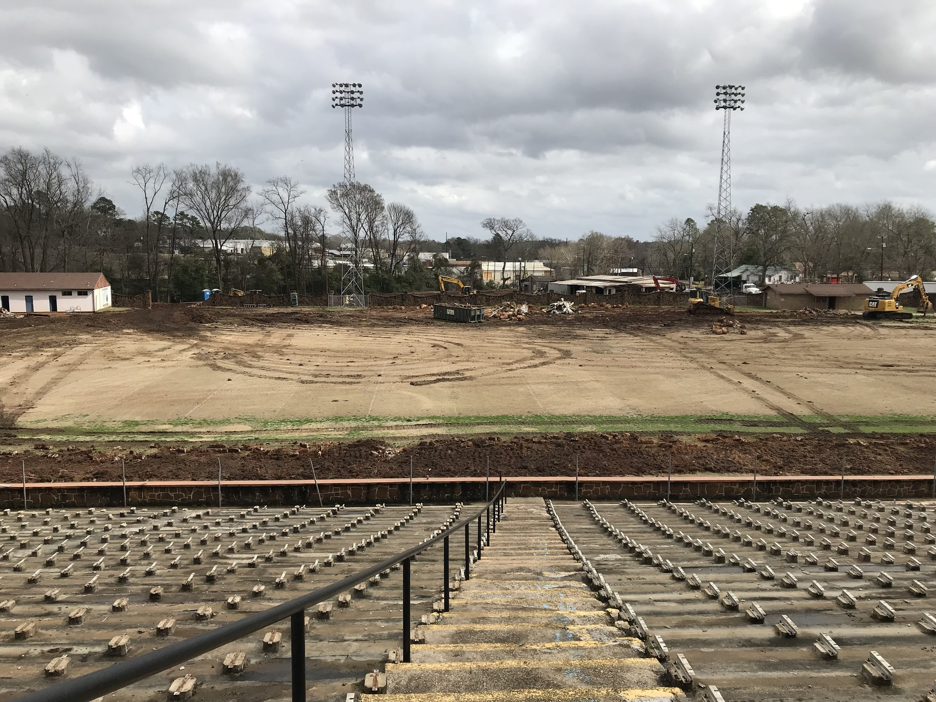 renovation begins on tomato bowl