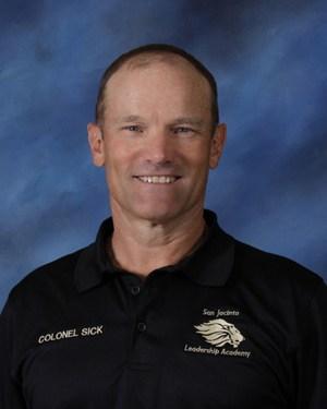 FRANCIS W. SICK, JR., Colonel, USAF (RET) Principal / Commandant