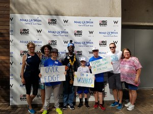 Manor ISD representatives rappelled for Make-A-Wish=