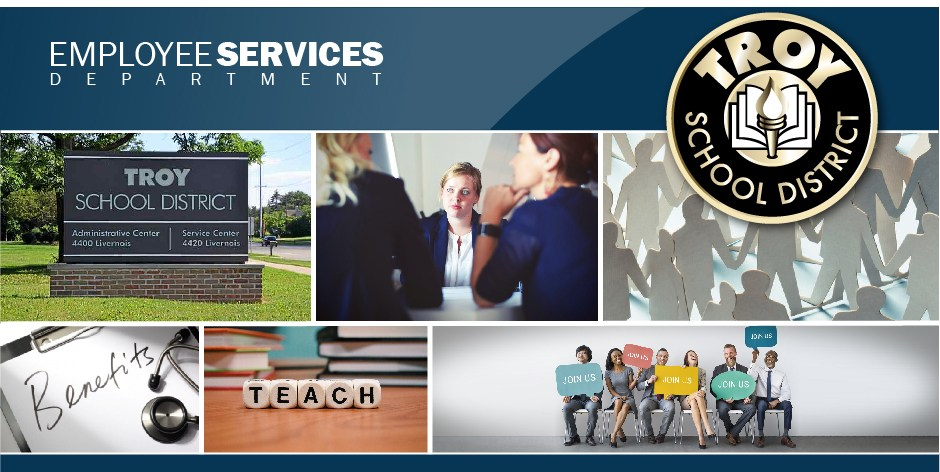 Employee Services photo banner.  This is a page design element.