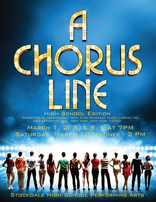 Stockdale Performing Arts presents: A Chorus Line - High School Edition Thumbnail Image