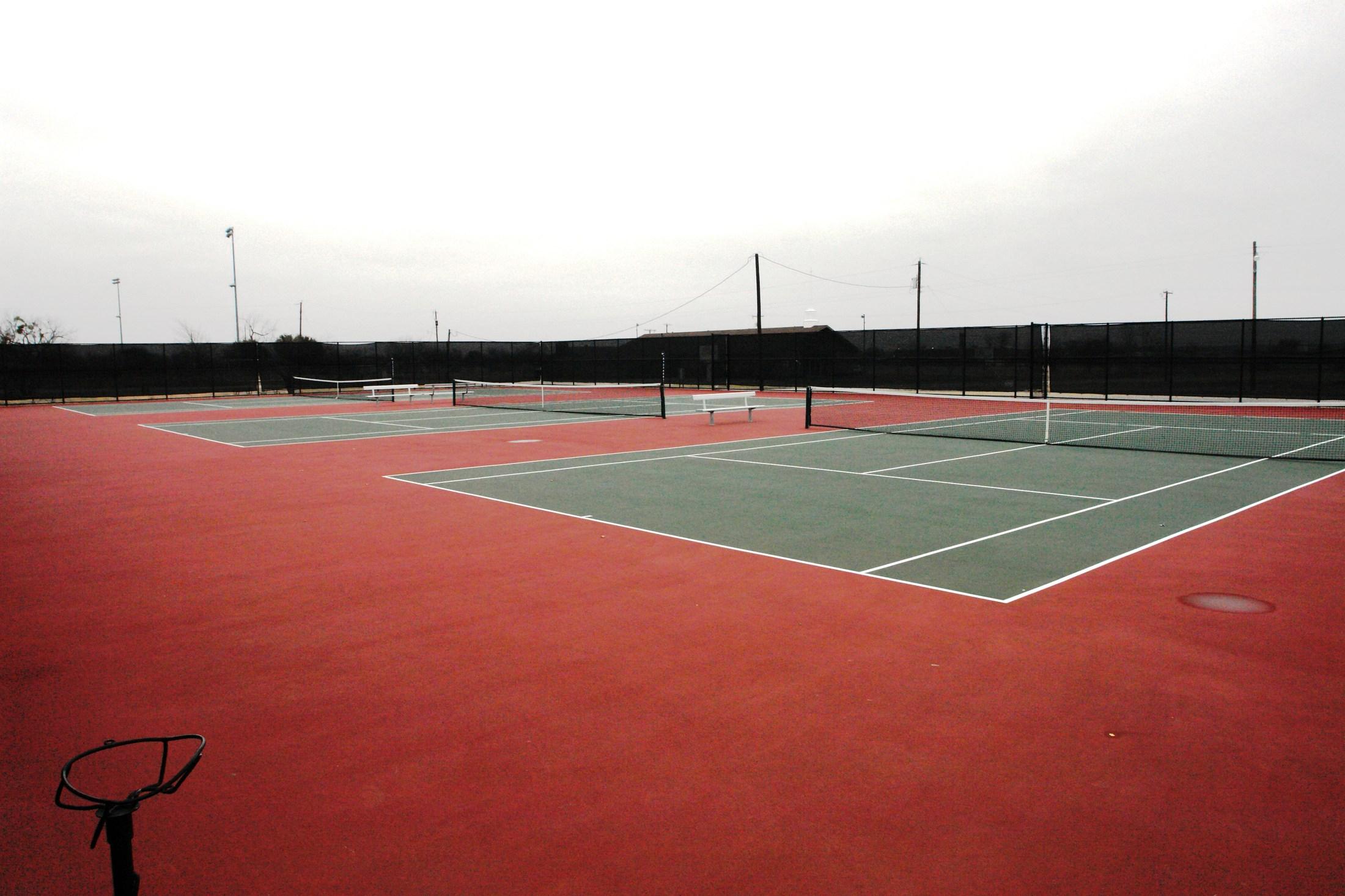 MWHS Tennis Courts