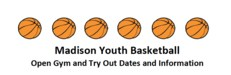 Madison Youth Basketball info