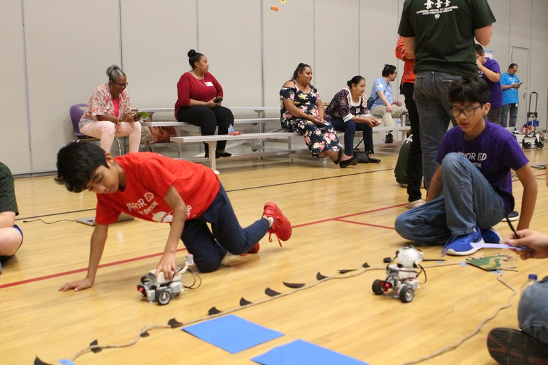 MISD Encourages STEM Learning with 9th Annual Robotics Expo Thumbnail Image