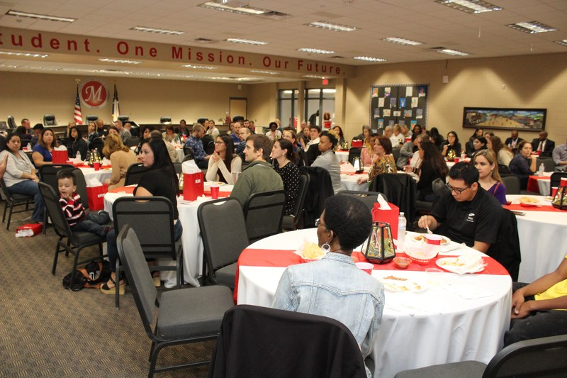 Mentor Manor participants receive thank you during luncheon Thumbnail Image