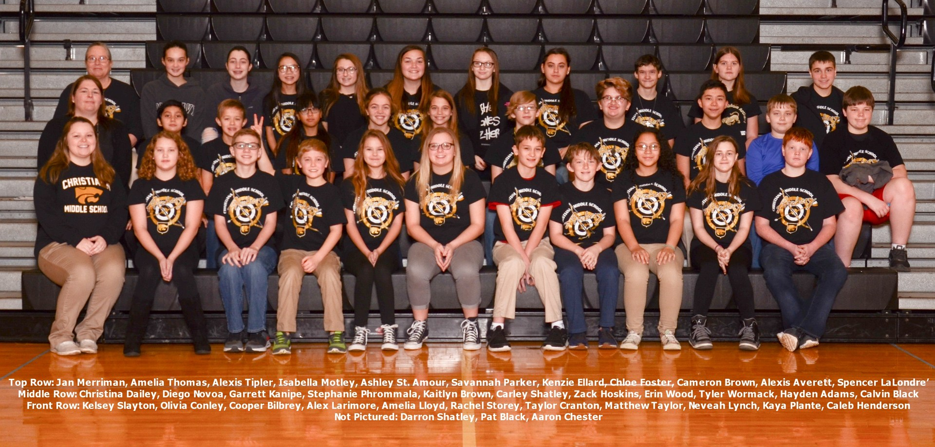 2018 Competition Archery Team