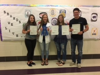 JHS Student Council Wins State Honors for 18th Year Thumbnail Image