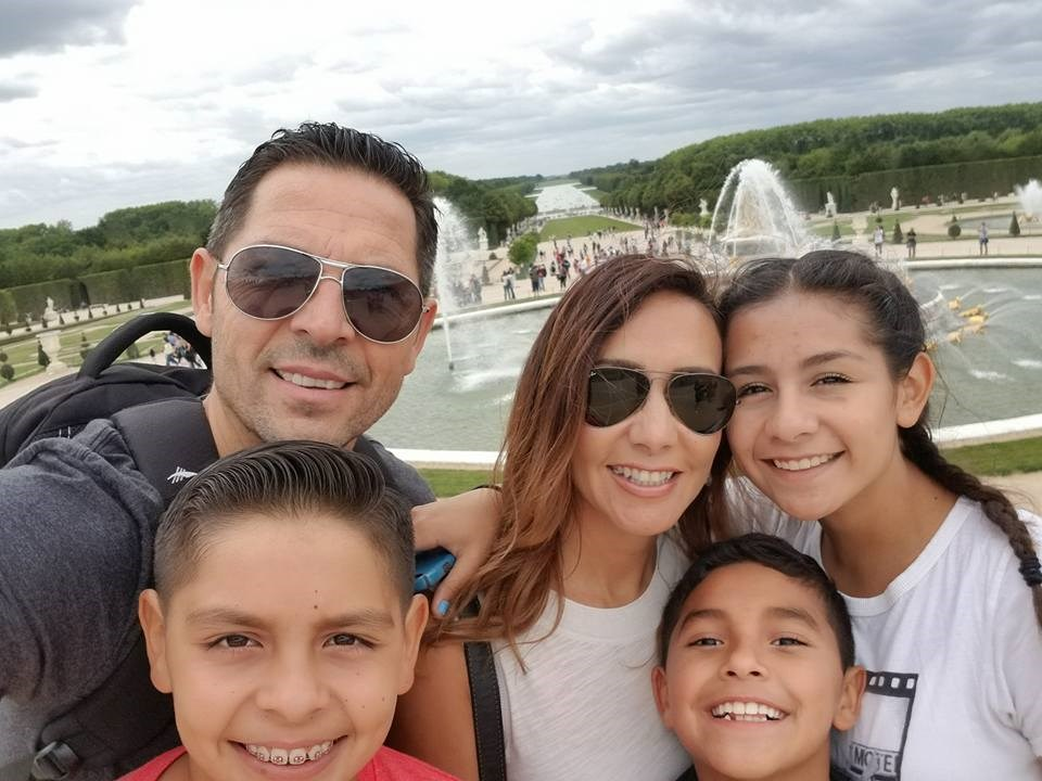 The Angulo's in Versailles!