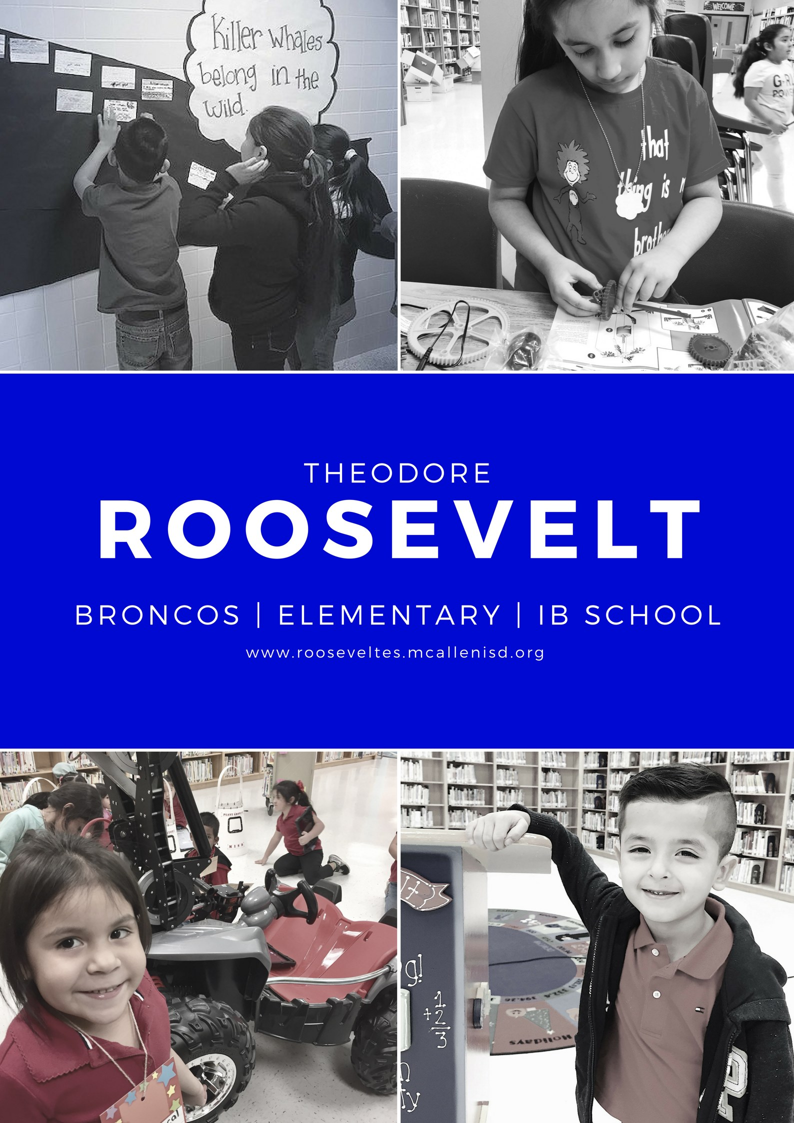 Roosevelt Poster student learning