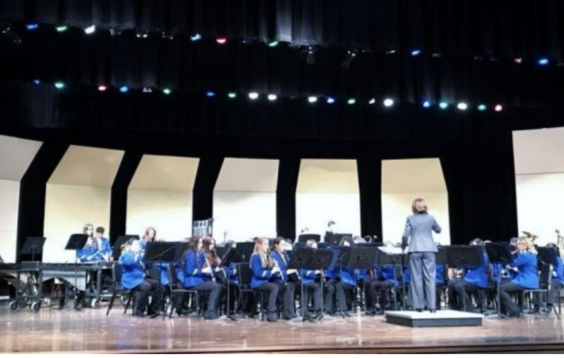 FMS band performing at UIL Competition