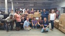 Invictus High School staff give back to book bank