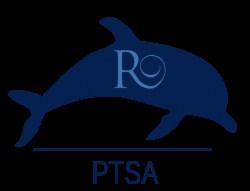 PTSA Robinson Elementary Dolphin Logo