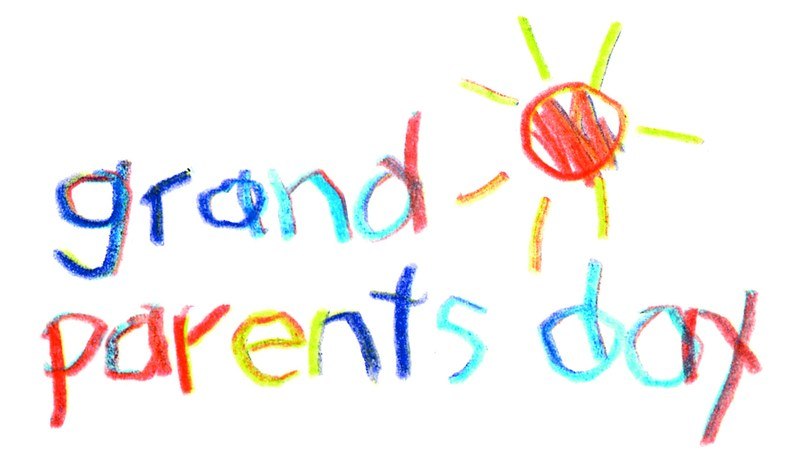 Grandparent's Day is  Friday, November 16th. Featured Photo