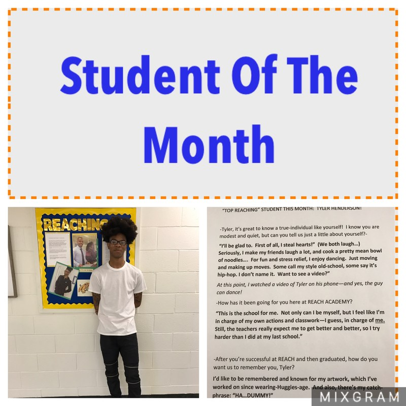 Student Of The Month Thumbnail Image