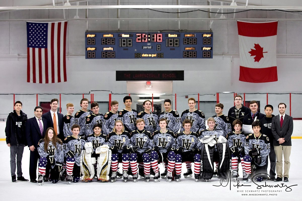Ice Hockey Team Photo