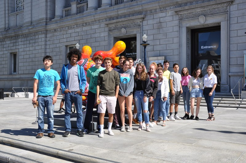 Students Visit Asian Art Museum Featured Photo