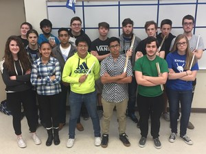 Brewer percussion ensembles advancing to state