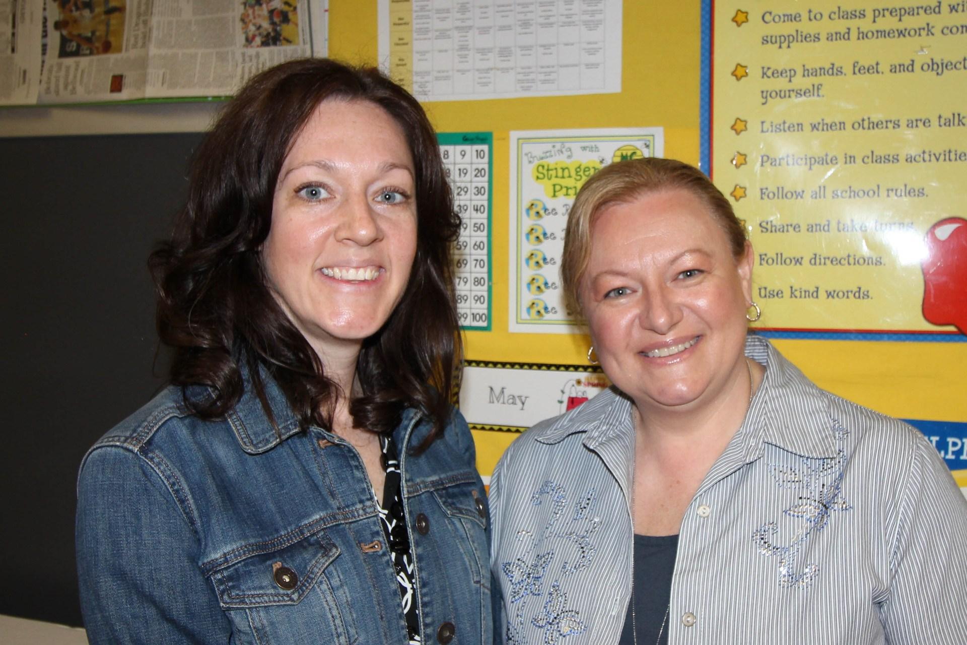 Mrs. Nelson & Mrs. Tiesi