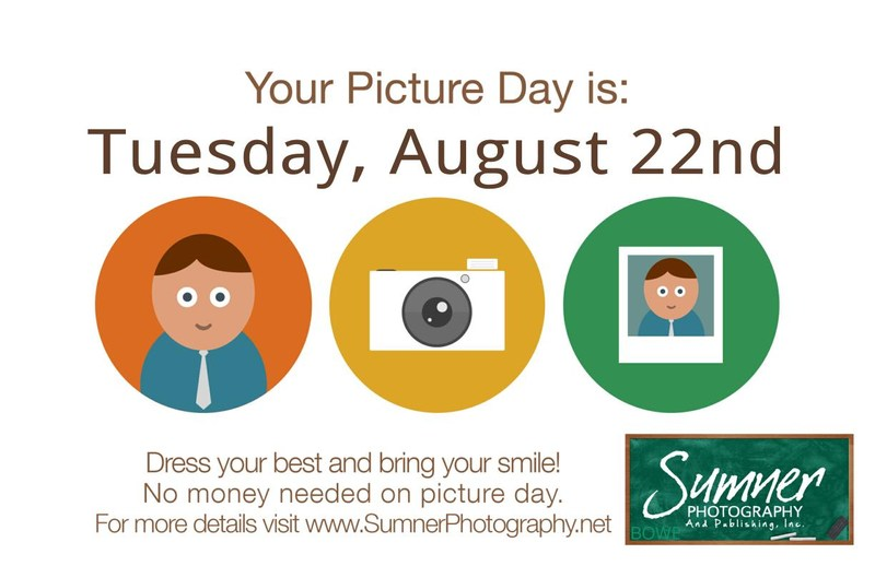 Picture Day August 22nd