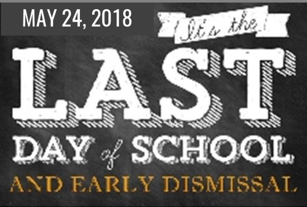 Early Release and Last Day of School Thumbnail Image