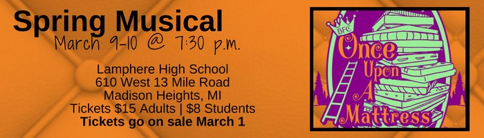 Spring Musical March 9-10