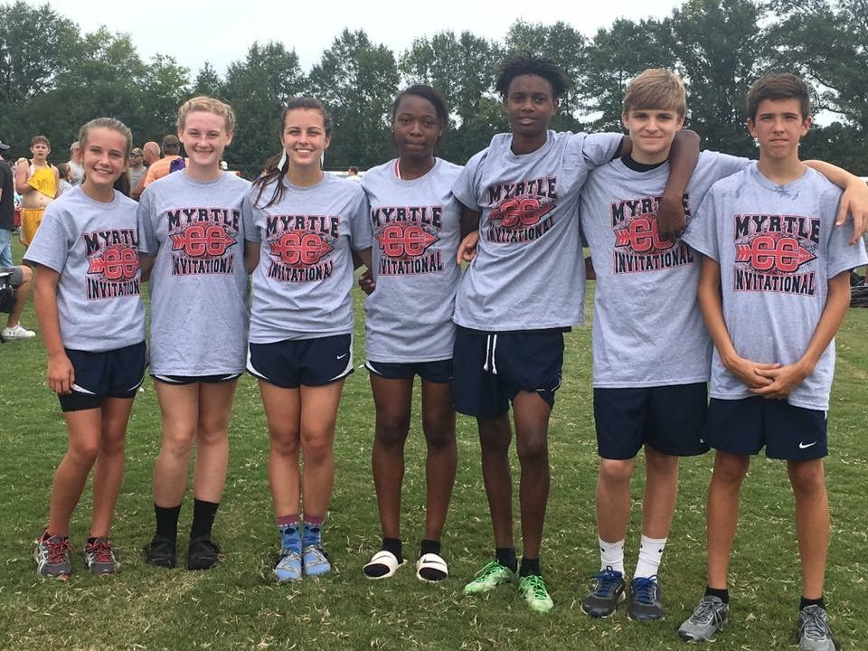 Cross country students picture