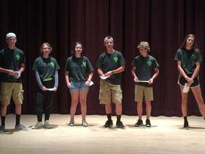 TKHS students attend cyber camp.