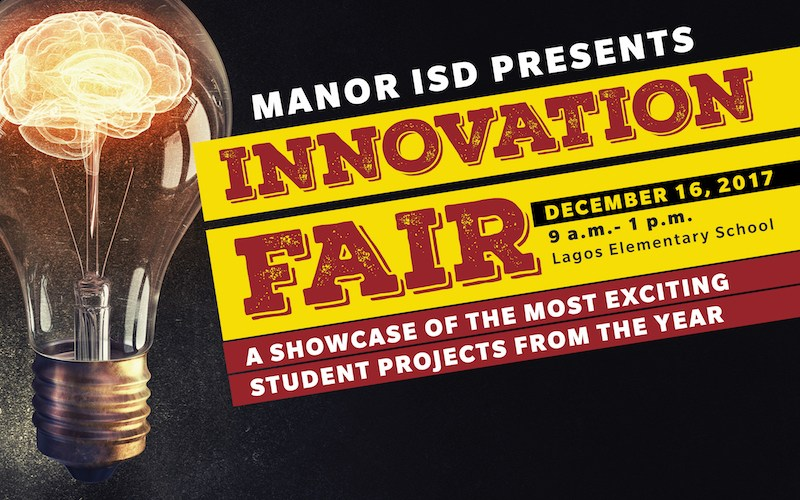 Manor ISD to host Innovation Fair Dec. 16! Thumbnail Image