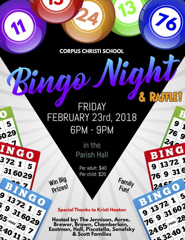 BINGO NIGHT! Featured Photo