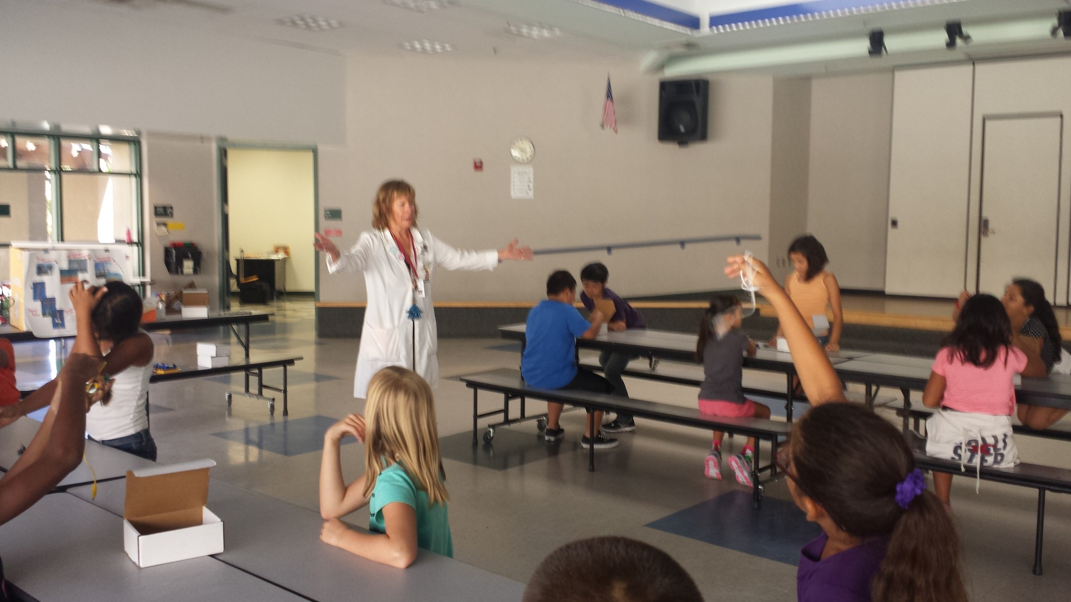 Hands on Science with Ms. Yvonne