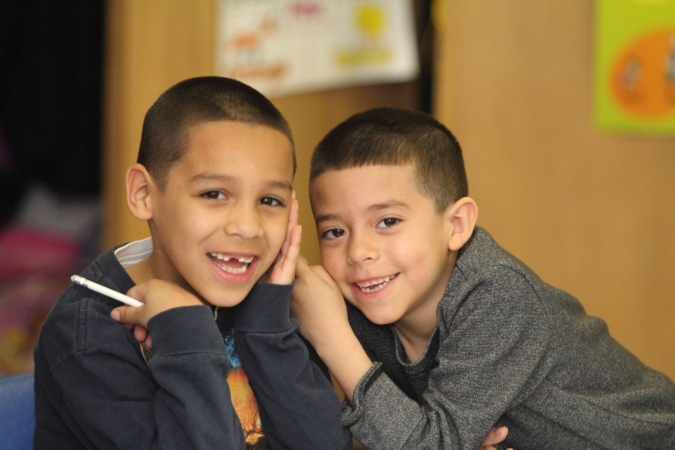Windlake Elementary students