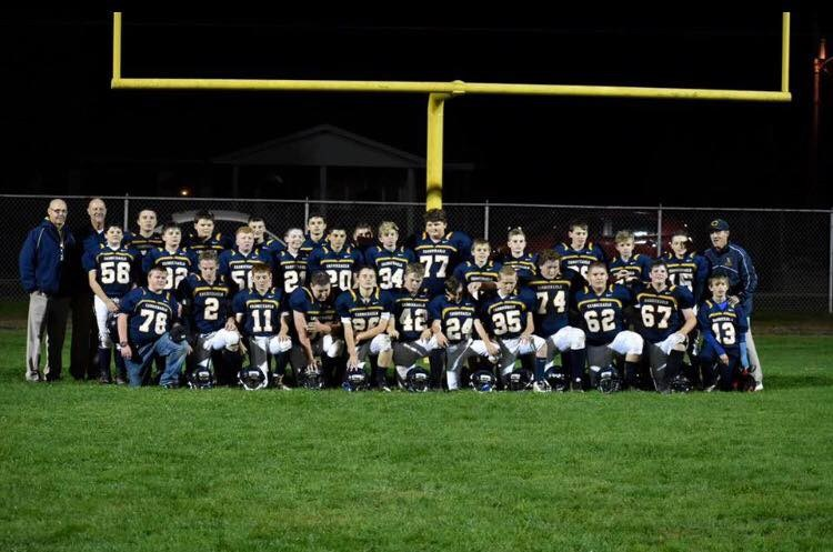 MS Football Team Clinch Section Champs Title! Thumbnail Image