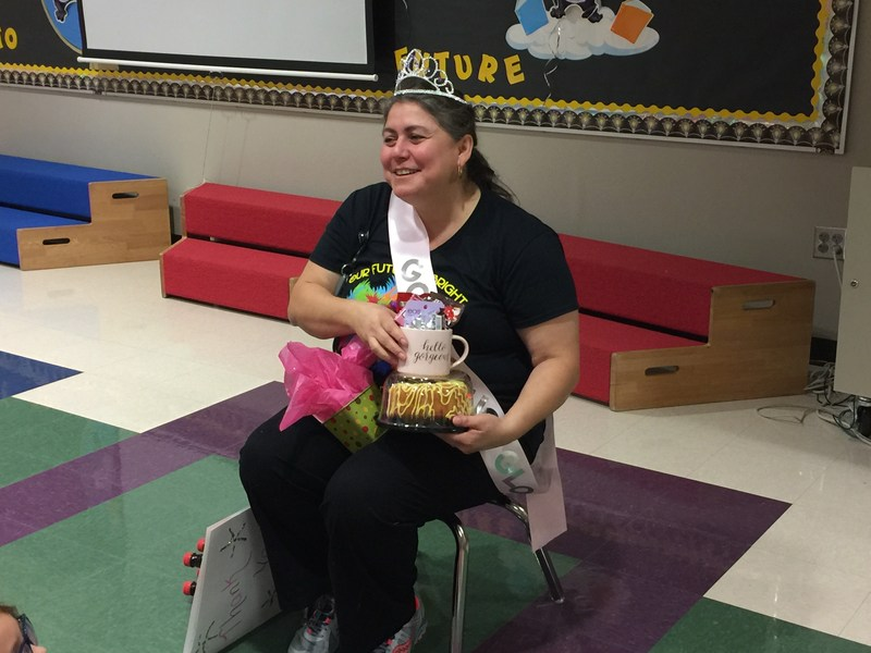 PreK Honors Mrs. Martin for Custodian Appreciation Week Thumbnail Image