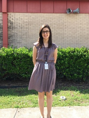 Manor New Tech High Math Teacher Jazmine Castanon=